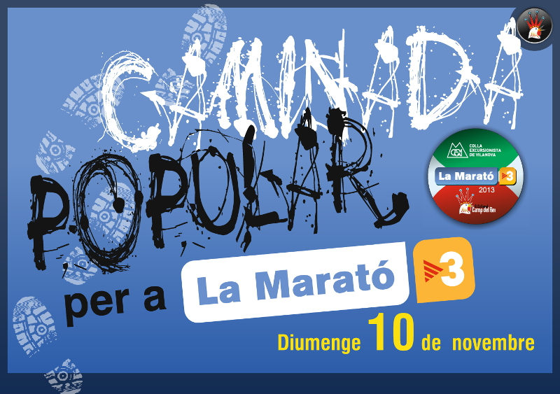 Vilanova del Camí tornarà a caminar per la Marató de TV3