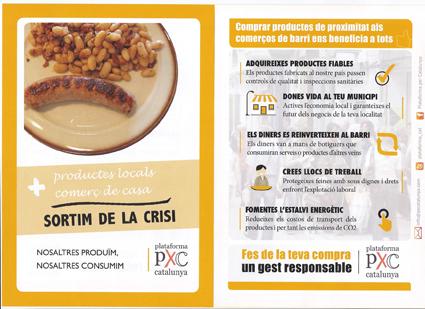 PxC Anoia presenta la campanya 'Nosaltres produïm, nosaltres consumim'