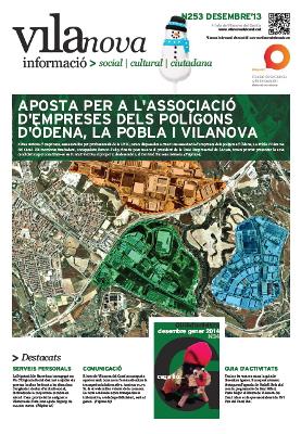 El Butlletí Vilanova Informació de desembre i la Guia de Nadal ja són a Internet