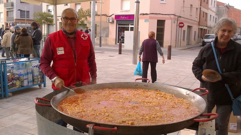 Vilanova del Camí recull uns 2.000 quilos d'aliments en el Gran Recapte