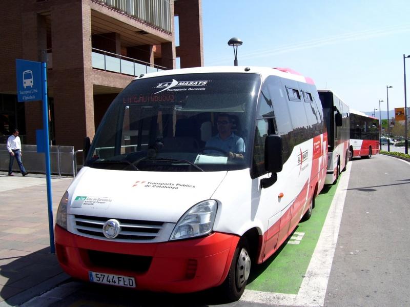 Els vilanovins tindran avui el servei de bus gratuït per celebrar la Setmana de la Mobilitat