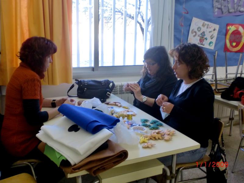 L'Ampa Joan Maragall vendrà manualitats de Nadal a la Fira de l'ACI per a la socialització dels llibres