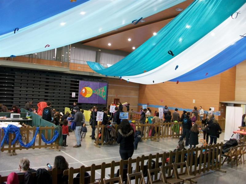 El XXè Saló de la Infància ha embarcat en l'aventura a 786 infants