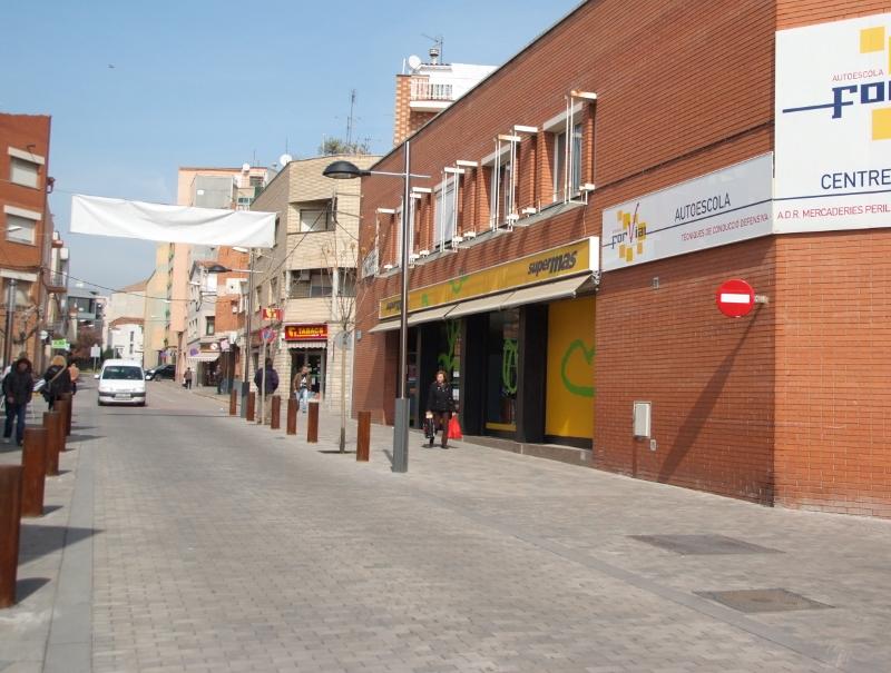 AVÍS – Tall del carrer Santa Llúcia de Vilanova del Camí