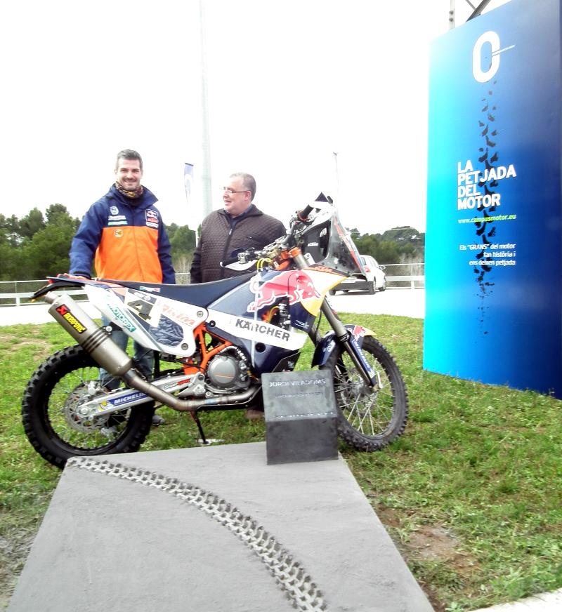 Jordi Viladoms deixa petjada al Parc Motor Castellolí