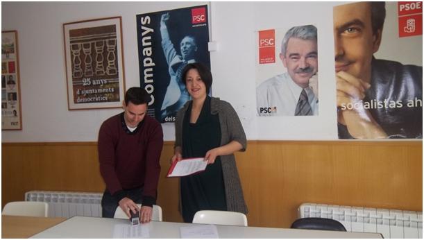 Trucharte i González presenten els seus avals per a les primàries del PSC