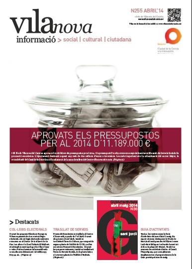 Butlletí Vilanova Informació n.255 – Abril 2014