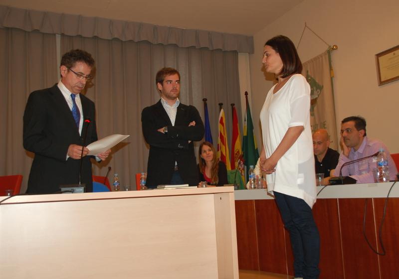 Àlbum Fotogràfic – Vanesa González investidura alcaldessa