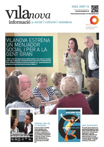 Butlletí Vilanova Informació n.256 – Juny 2014