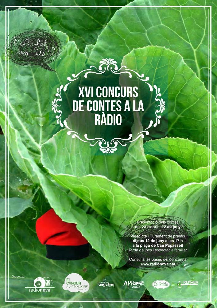 Quinze dies per lliurar obres al XVIè Concurs de Contes a la Ràdio