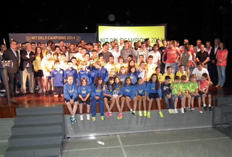 Àlbum Fotogràfic – Nit dels Campions de la FCF 2014 a Can Papasseit