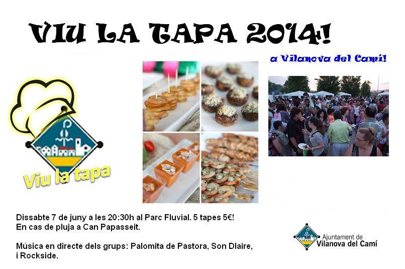 Les entitats es posen el davantal de xef a la festa 'Viu la tapa!'