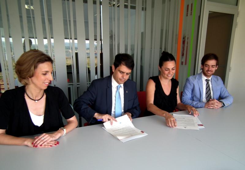 Vilanova i Igualada comparteixen eines per al desenvolupament econòmic