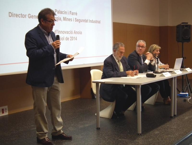 Palacín defensa un nou model energètic per a Catalunya al Centre d'Innovació Anoia