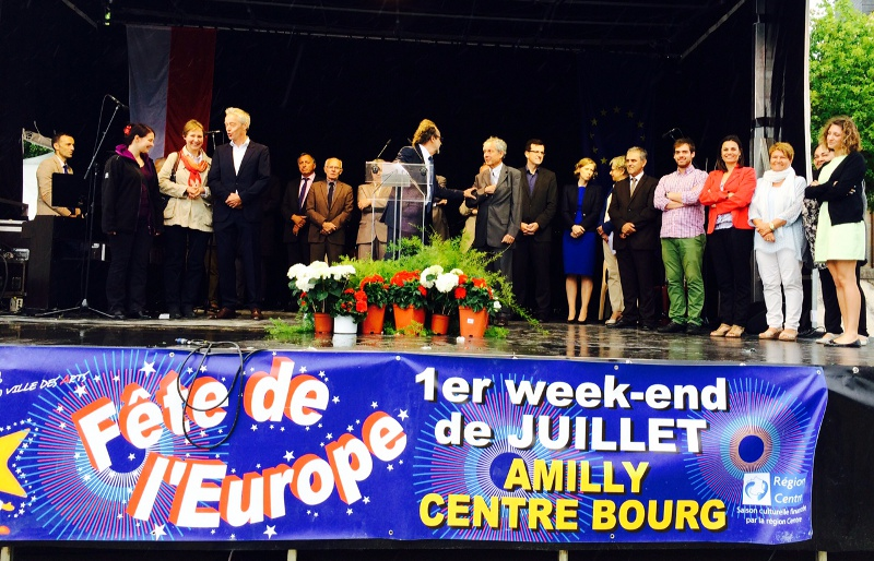 Joves del Budokan i Artístic, protagonistes a la Festa d'Europa d'Amilly
