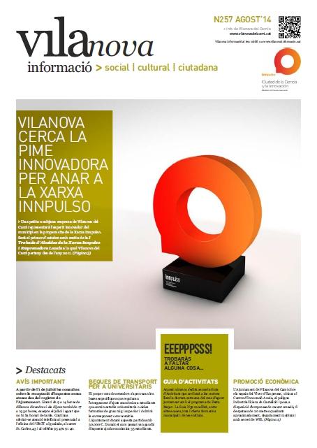 Butlletí Vilanova Informació n.257 – Juliol 2014