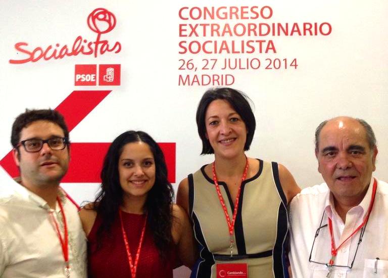 L'Agrupació del PSC de Masquefa, Vilanova i Igualada, al Congrés del PSOE