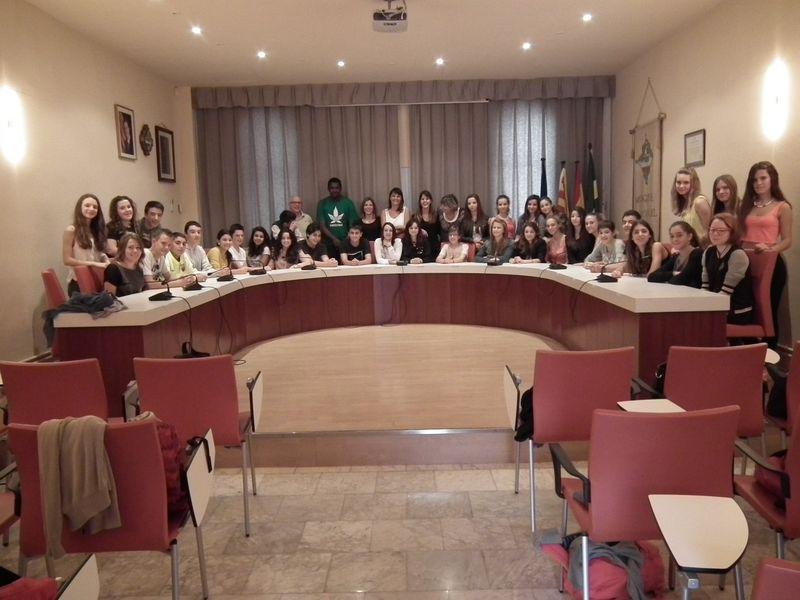 Valoració positiva del setè intercanvi entre alumnes de Vilanova i Amilly