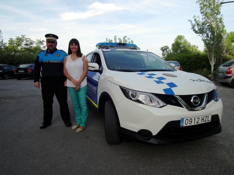 La Policia Local completa la seva flota amb un nou vehicle tot camí