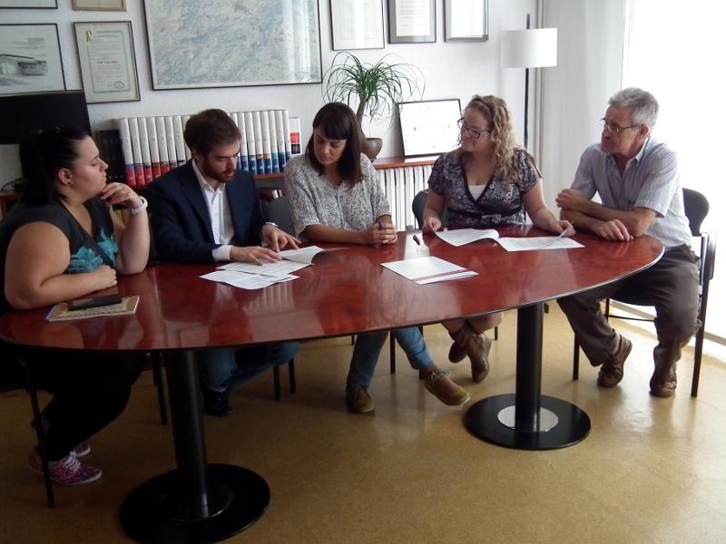 Ajuntament i ACI junts en la promoció i dinamització del comerç local