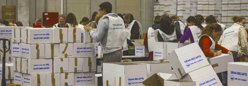 La Fundació Banc d'Aliments crida a la participació del Gran Recapte