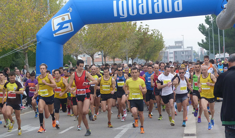 Roger Roca i Anna Noguera guanyen la 32a Mitja Marató de l'Anoia