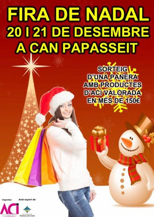 La Fira de Nadal de l'ACI omplirà de paradetes i activitat Can Papasseit