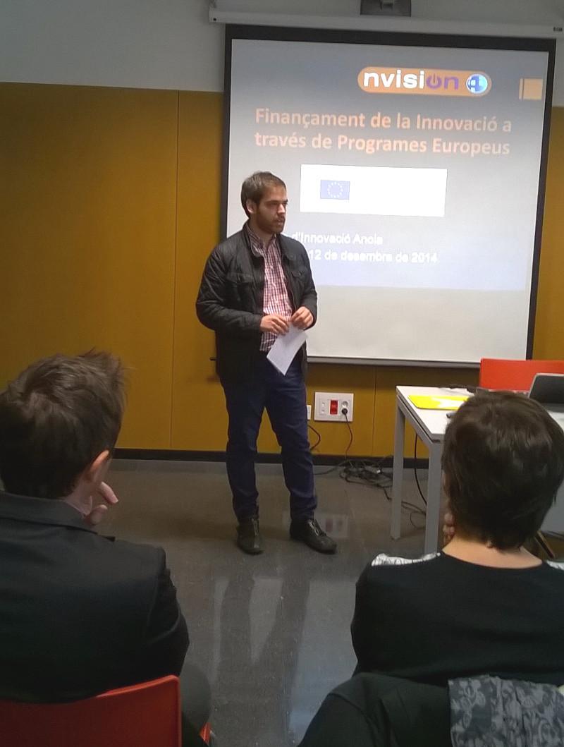 La UEA explica les principals línies de finançament per innovar a les empreses