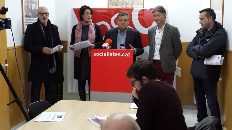 El PSC critica l'oblit d'inversió estratègica a l'Anoia en els pressupostos