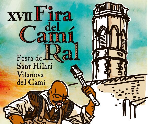 televisiovilanova.cat – Fira del Camí Ral 2015 – Espai d'artesans a la Fira del Camí Ral 2015