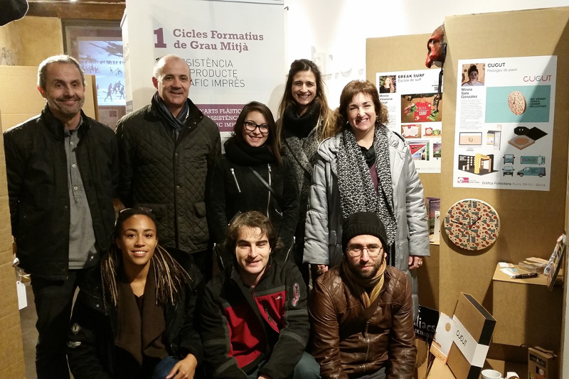 L'Empremta exposa els projectes de Gràfica Publicitària de l'escola Gaspar Camps