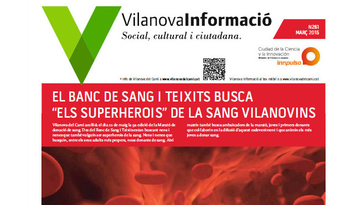 Butlletí Vilanova Informació març 2015 – Social i cultural