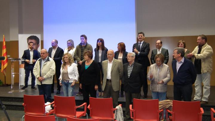 Jordi Barón destaca l'obertura i renovació de la candidatura de CiU