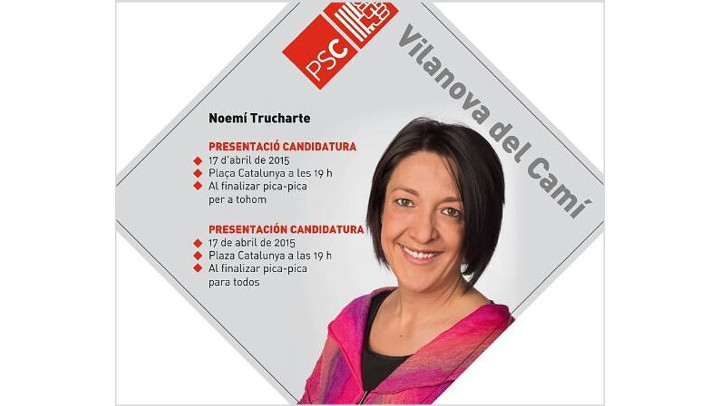 El PSC presenta la llista de persones que segueixen a Trucharte