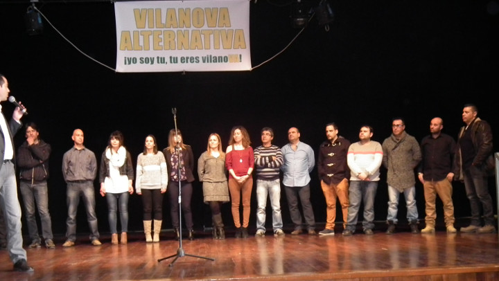 Vilanova Alternativa recull 600 signatures en 4 dies