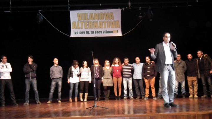 Vilanova Alternativa concorrerà a les eleccions com Agrupació d'Electors