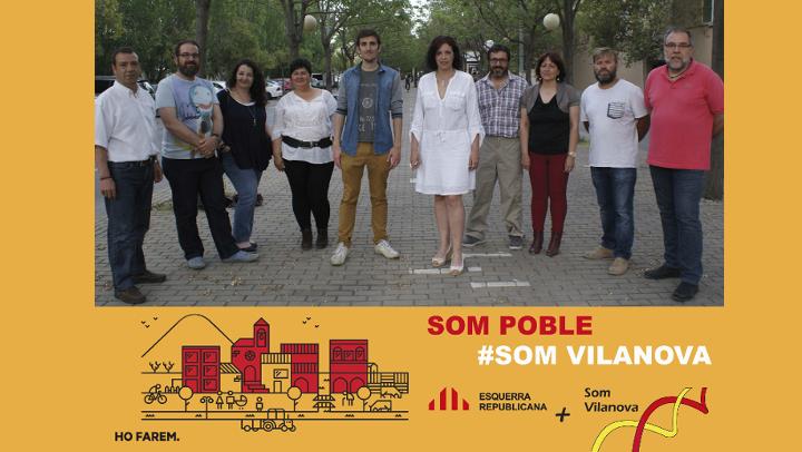 """Esquerra + Som Vilanova vol """"recuperar el protagonisme de la ciutadania"""""""