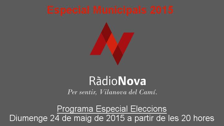 Segueix l'escrutini en directe, a Ràdio Nova
