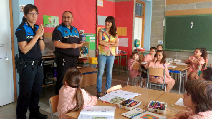 Els infants contribueixen a fer de Vilanova un municipi més segur i amb menys accidents