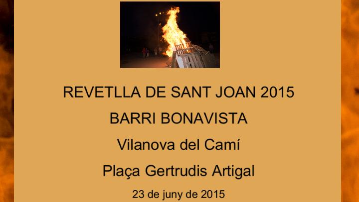La revetlla més especial en 25 anys, al Barri Bonavista