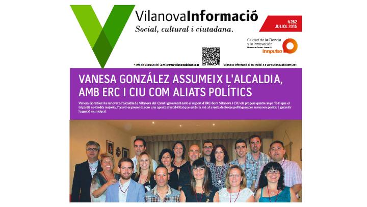 Butlletí Vilanova Informació n.262 Juliol 2015