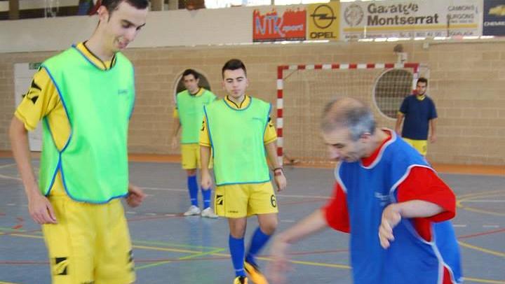 El CFS Can Titó organitza el primer torneig sense barreres de futbol sala