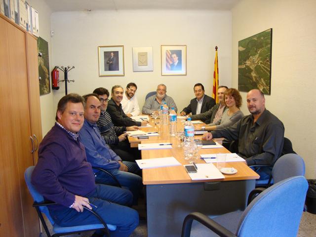 El Consell Comarcal vol unir forces amb els ajuntaments per contribuir al progrés dels municipis