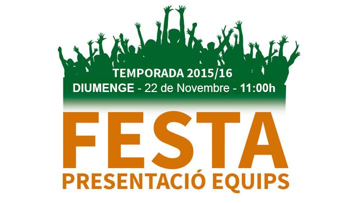 El CFS Can Titó Vilanova presenta, diumenge, els seus equips