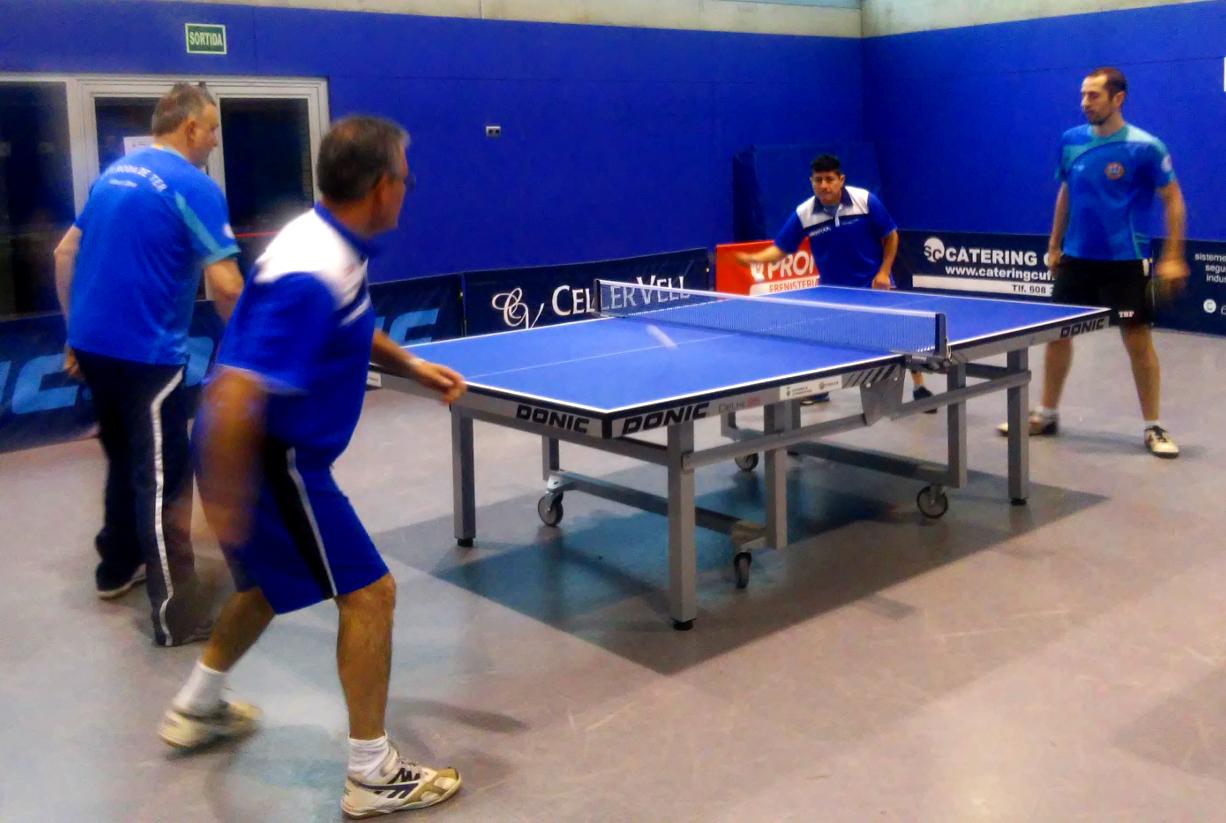 Important victòria del CTT Vilanova per 3 a 4 davant el CTT Ateneu 1882