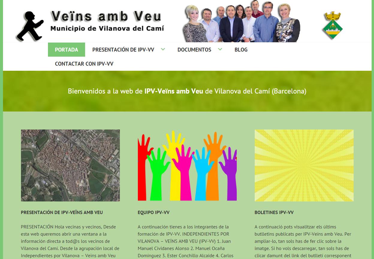 IPV-VV estrena pàgina web adaptable a dispositius mòbils i tauletes