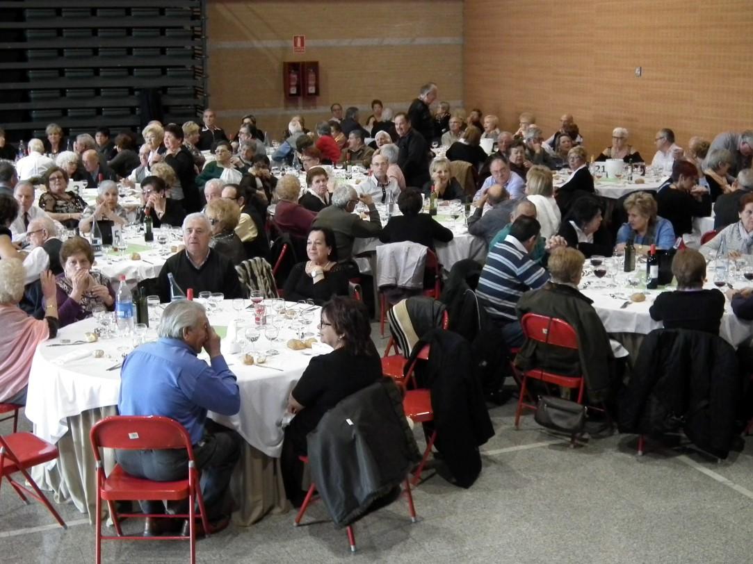 L'Associació de Pensionistes i Jubilats fa un reconeixement als socis de més edat