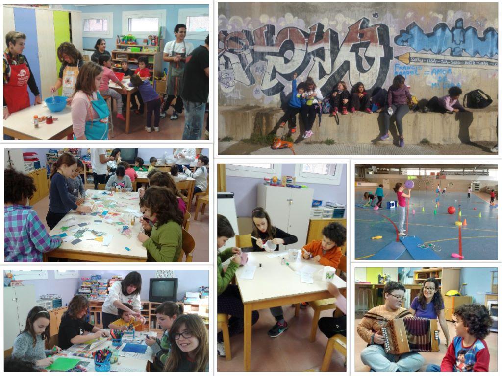 Collage Esplai Vilanova Creu Roja