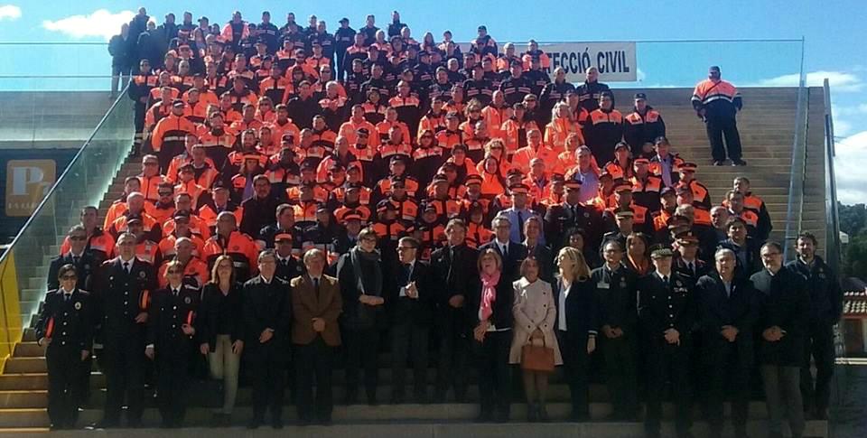 Distinció a Protecció Civil de Vilanova pel suport en els incendis d'Òdena