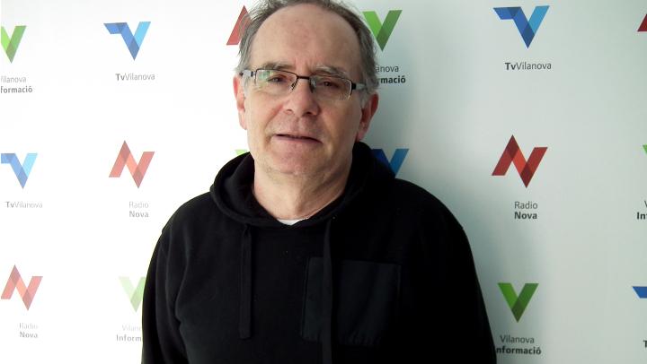 Josep Minguet, tresorer Associació de Germanor de Vilanova del Camí